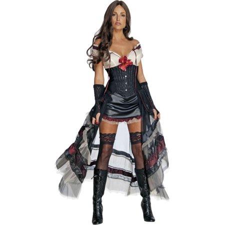 Morris Costumes Womens Tv & Movie Characters Jonah Hex Dress Black M, Style RU889411MD