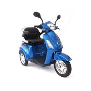 GTX-L Adult Electric Mobility Scooter in blue, senior mobile scooter, electric tricycle