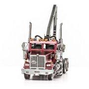 Fascinations Metal Earth Western Star 4900 Log Truck 3D Metal Model Kit