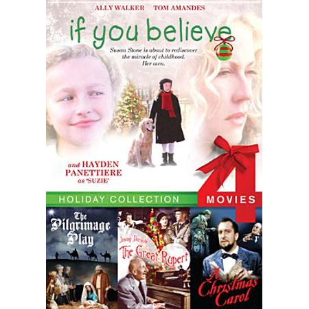 If You Believe / The Great Rupert / The Pilgrimage Play / Christmas Carol (DVD) - Halloween Christmas Carols