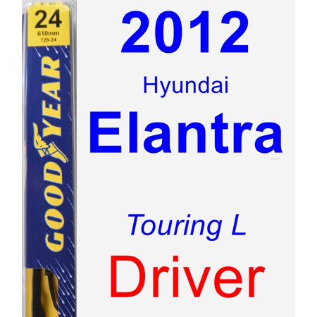 2000 Hyundai Elantra (2012 Hyundai Elantra (Touring L) Driver Wiper Blade - Premium )