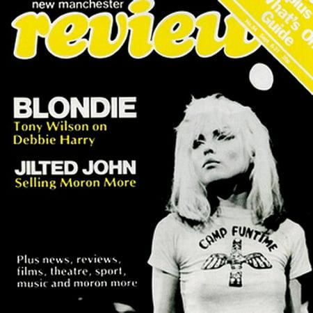 Button Magazine - Blondie Magazine Cover Button B-0554