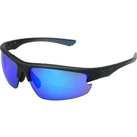 Rawlings R31 Graphite Smoke Blue Adult Baseball/Softball Sunglasses (Graphite Sunglasses)