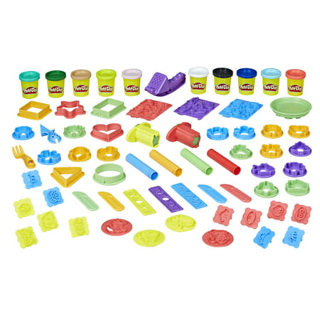 Play-Doh: Kids Play-Date Party Crate with over 40 Accessories