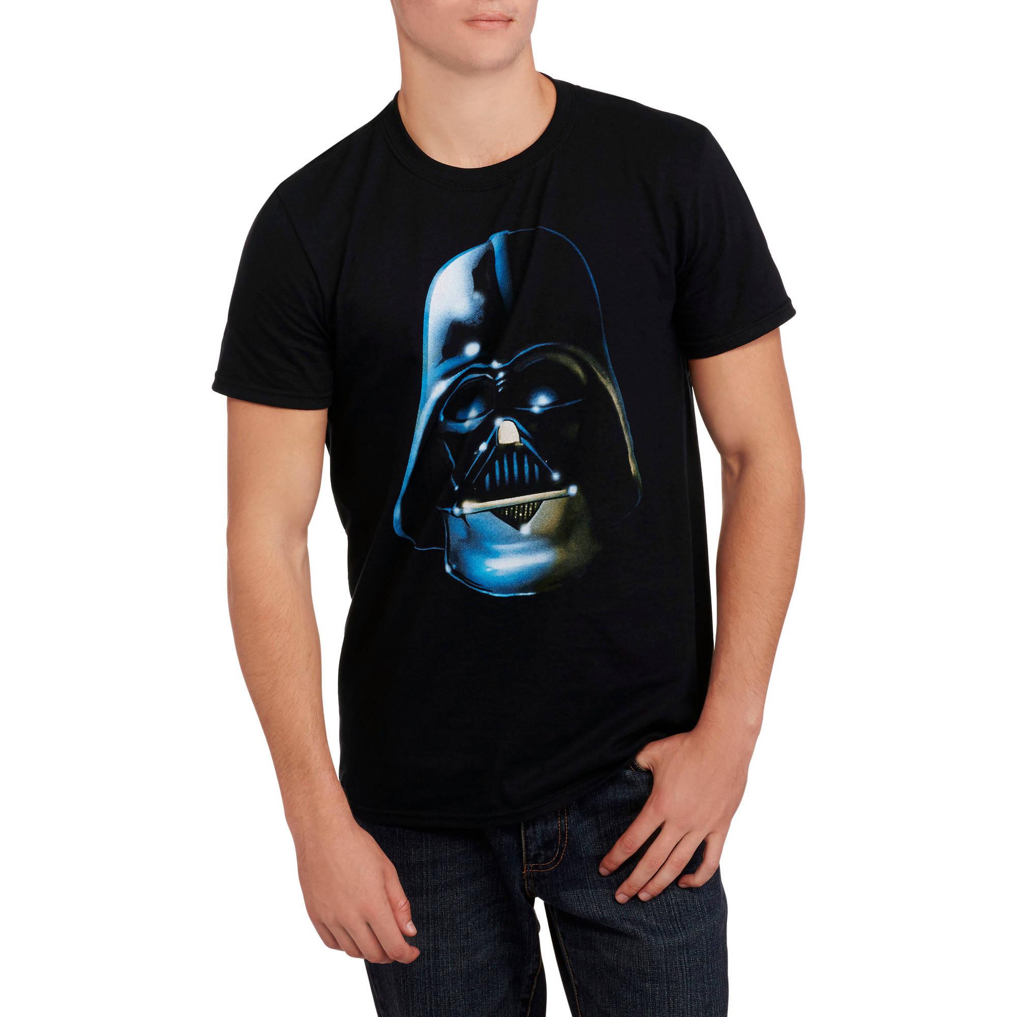 Star Wars Men's Darth Vader My Planet Graphic Tee