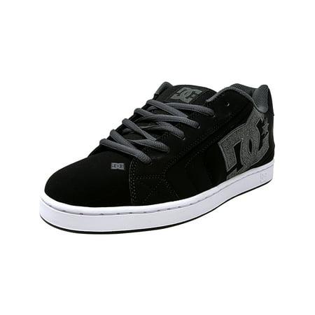 Adidas Skateboarding Shoes (Dc Men's Net Se Black / Grey Low Top Leather Skateboarding Shoe - 9.5M)