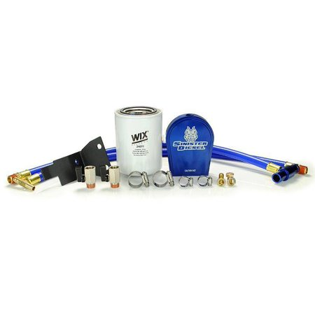 Sinister Diesel 03-07 Ford 6.0L Ford Powerstroke Coolant Filtration System w/ Wix (Best Engine Oil For Ford 6.0 Diesel)