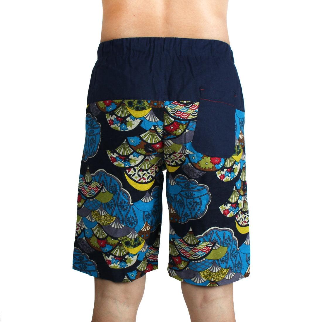 e59ef61fbc Men Outdoor Summer Linen Beach Surfing Swimming Shorts Casual Swim ...