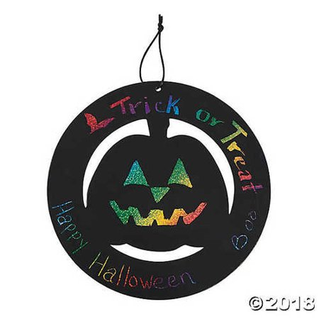 Halloween Mesh Wreaths Ideas (Large Magic Color Scratch Halloween Wreath)