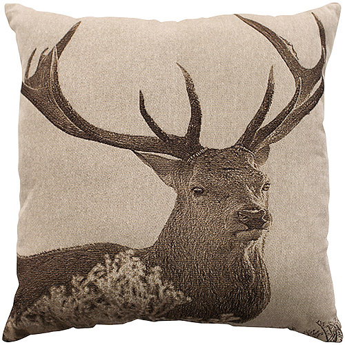 Better Homes and Gardens Deer Decorative Pillow by