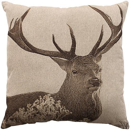 Better Homes and Gardens Deer Decorative Pillow