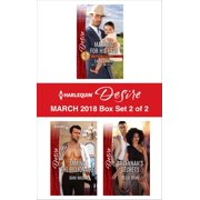 Harlequin Desire March 2018 - Box Set 2 of 2 - eBook