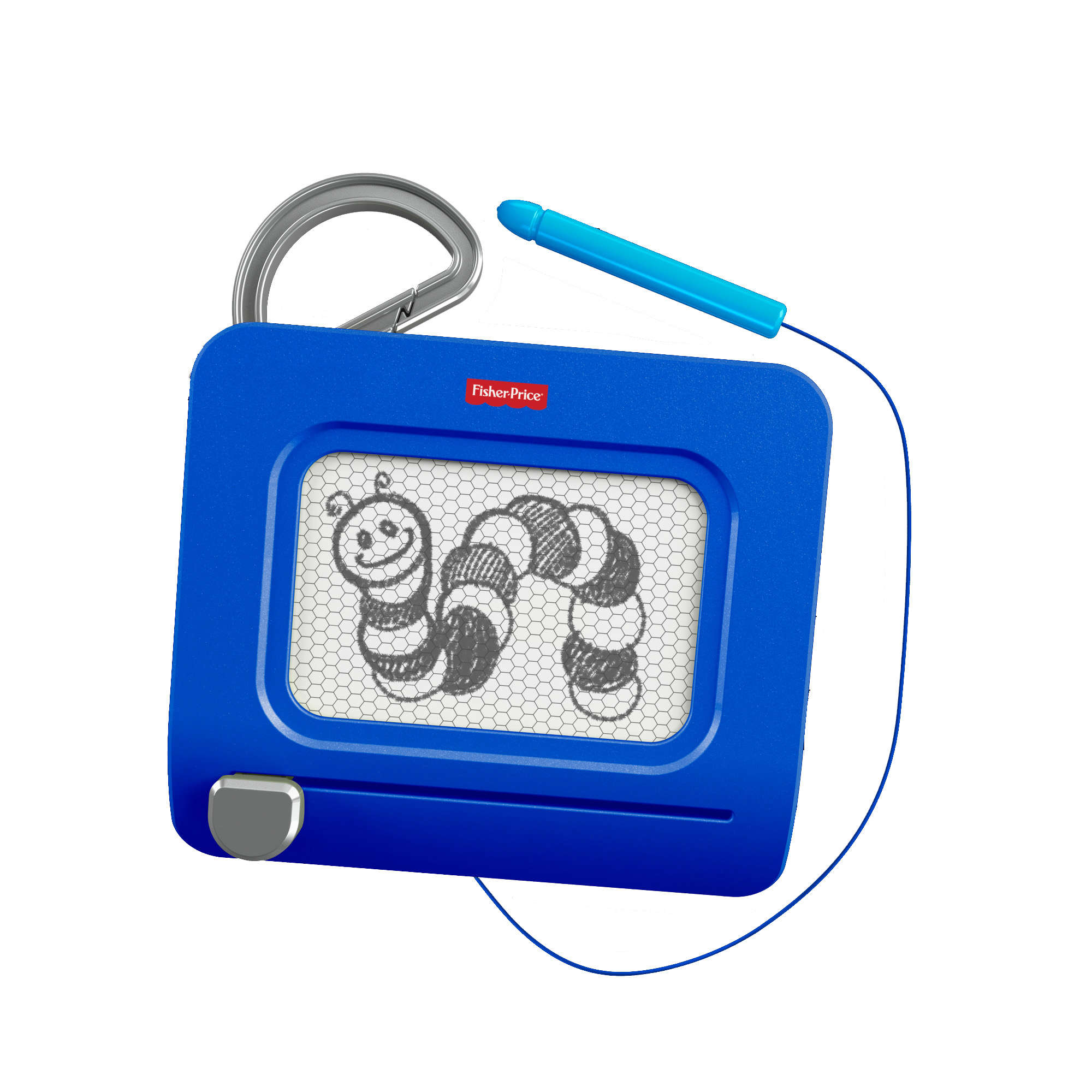 Fisher-Price Doodle Pro Clip, Blue