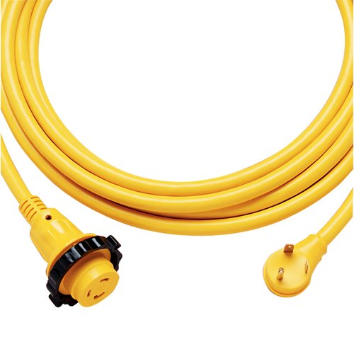 Park Power 25SPPRV RV 30 Amp Locking Power Cord Plus Cordset, 25'