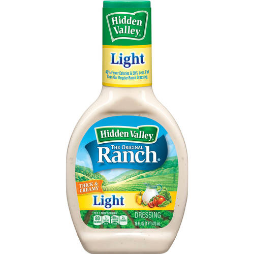Hidden Valley The Original Ranch Light, 16 Fluid Ounces