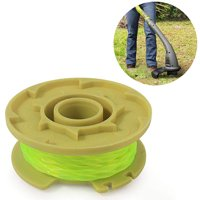 Juslike Weed Eater Replacement Spools Compatible for Ryobi One Plus+ 18V 24V 40V AC80RL3 String Trimmer, 11ft 0.080 inch Auto-Feed, Cordless Trimmers Twist Single Line (6 Pack)