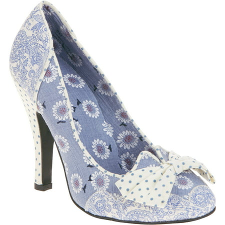 Momo Women's Beauty Floral Pump