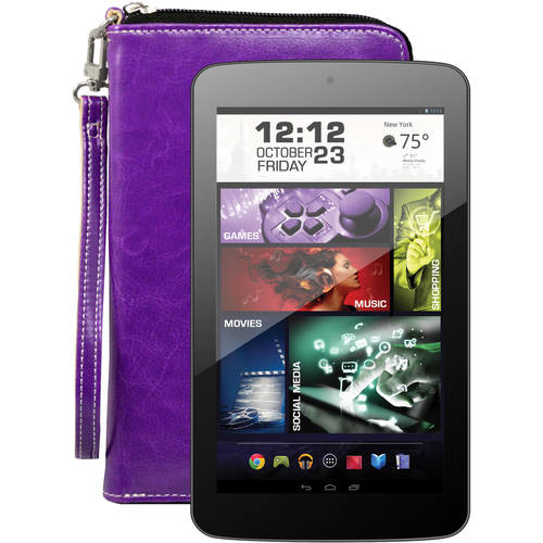 """Visual Land Prestige Pro 7DS with WiFi 7"""" Touchscreen Tablet PC Featuring Android 4.4 (KitKat) Operating System"""