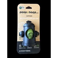 Dog Waste Bag Dispenser, Certified by department of agriculture as a bio based product By PoopBags From USA
