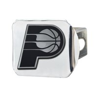 "Indiana Pacers Chrome Hitch Cover 4 1/2""x3 3/8"""