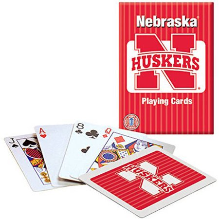 - Officially Licensed NCAA Nebraska Playing Cards
