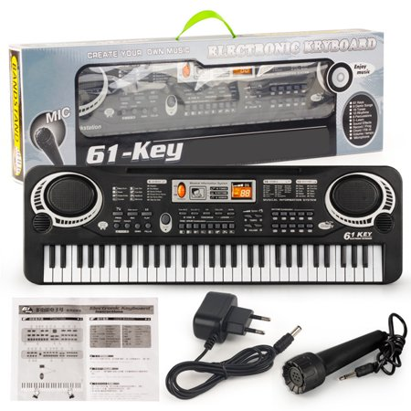 61 Key Digital Music Electronic Keyboard Piano Early Educational Tool Training