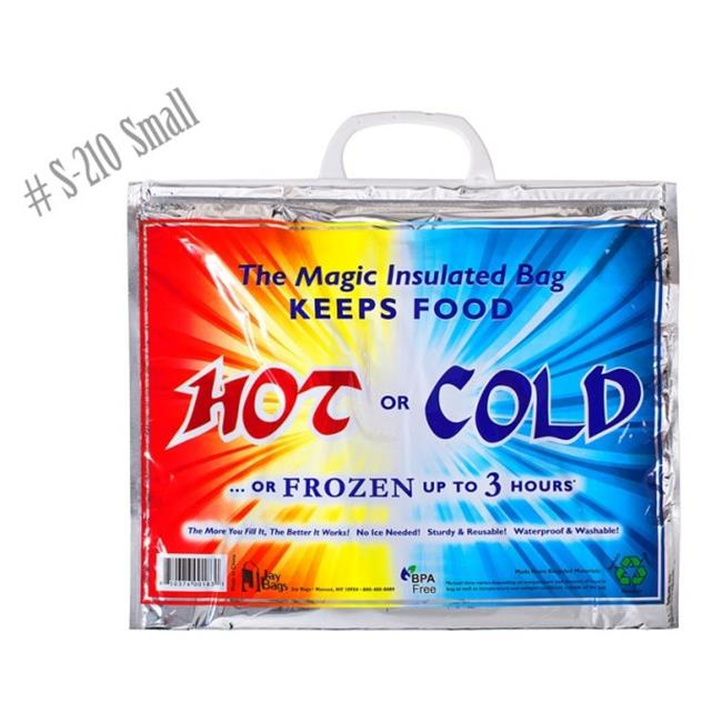 Jay Bags S-210 Hot & Cold Bags, Small - Pack of 100 - image 1 de 1