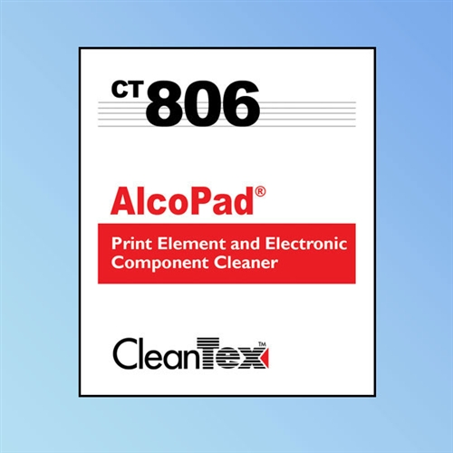 CleanTex AlcoPad 91% Alcohol Wipes, Electronic Component Cleaner, 250/box