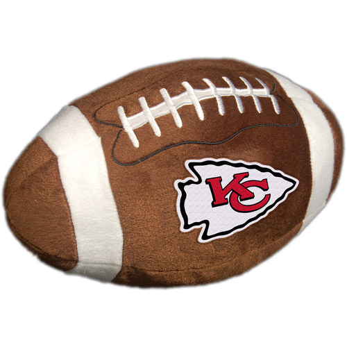 NFL Plush Football Pillow, Kansas City Chiefs