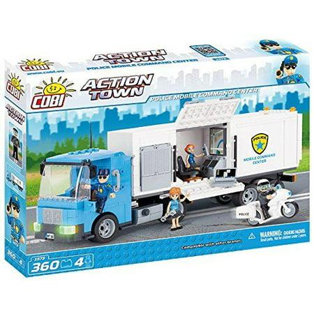 - Police Mobile Command - Action Town 360 pcs. - Building Set by Cobi Blocks