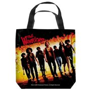 Warriors Walk Tote Bag White 18X18