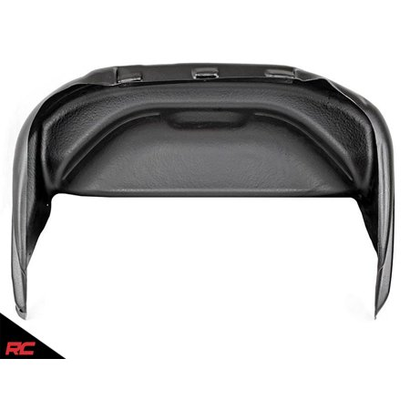Rough Country Rear Wheel Well Liners compatible w/ 1999-2018 Chevy Silverado 1500 2500 3500