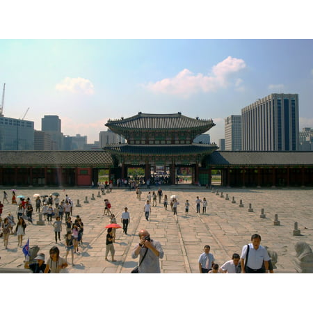 LAMINATED POSTER Seoul Monument Building King Korea Poster Print 24 x 36