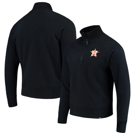 Houston Astros '47 MLB Headline Quarter-Zip Pullover Jacket - Navy