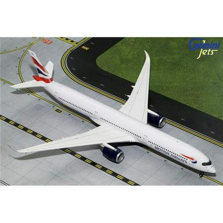 Gemini200 G2BAW784 British Airways Airbus A350-1000 Scale 1 by 200 Reg No. G-XWBA British Airways Airbus