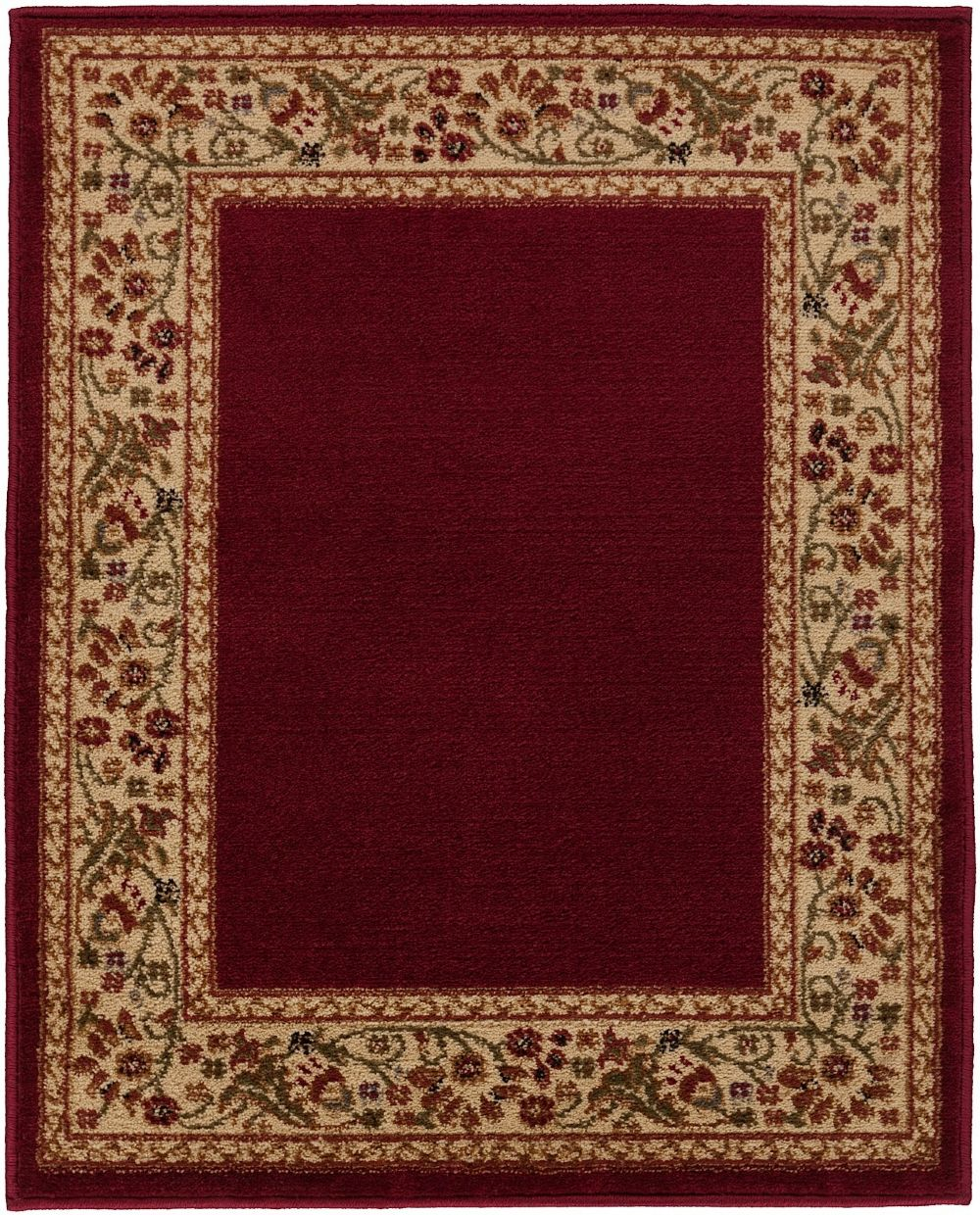 Round Or Rectangular Area Rug: Transitional Midtown Collection Area Rug In Multiple Color