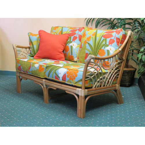 Spice Islands Wicker Bali Loveseat
