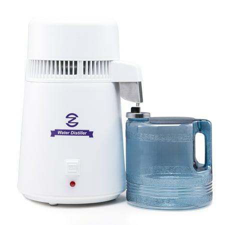 Pure Water Distiller Purifier Filter All Stainless Steel Internal 4L