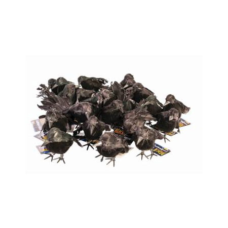 Small Black Crows Halloween Decoration](Halloween Easy Decorations Make)