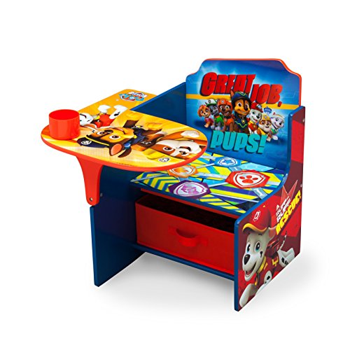 Beau Paw Patrol Toddler Desk Chair With Storage Bin
