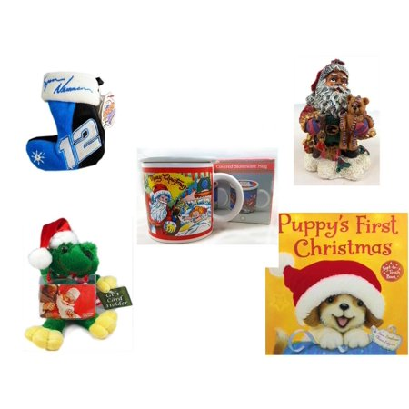 Christmas Fun Gift Bundle [5 Piece] - Nascar #12 Ryan Newman ...