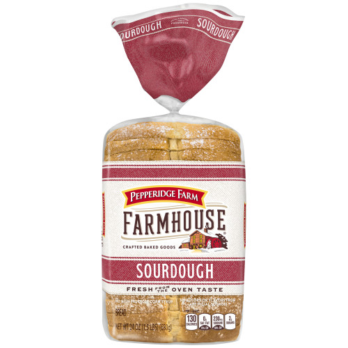 Pepperidge Farm Farmhouse Sourdough Bread, 24 oz. Bag