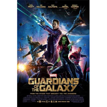 Pop Culture Graphics MOVAB77045 Guardians of The Galaxy Movie Poster Print, 27 x 40 ()