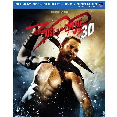 300: Rise Of An Empire (3D Blu-ray + Blu-ray + DVD + Digital HD)