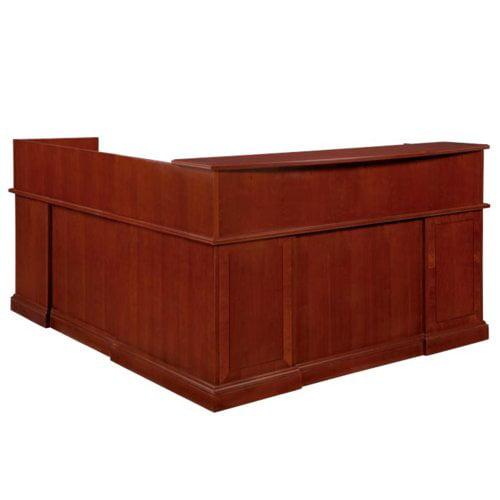 Flexsteel Contract Belmont Right L-Shape Reception Desk
