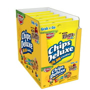 Keebler Chips Deluxe Rainbow Cookies with M&M's Mini Chocolate candies Grab 'n' Go 18 oz 6 ct
