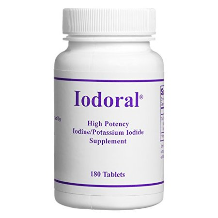 Optimox - Iodoral, High Potency Iodine Potassium Iodide Thyroid Support Supplement, 180 (Iodine Potassium)