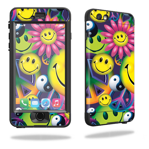 Skin For Lifeproof Nuud iPhone 6 Case – Peace Smile | MightySkins Protective, Durable, and Unique Vinyl Decal wrap cover | Easy To Apply, Remove, and Change Styles | Made in the USA