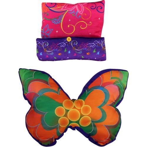DisneyTinkerbell Surreal Garden Decorative Pillows, Set of 2