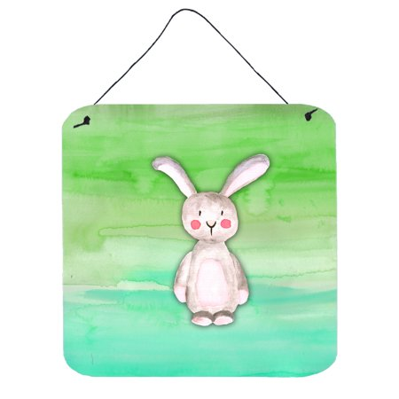 Bunny Rabbit Watercolor Wall or Door Hanging Prints BB7437DS66 (Bunny Rabbit Hanging)